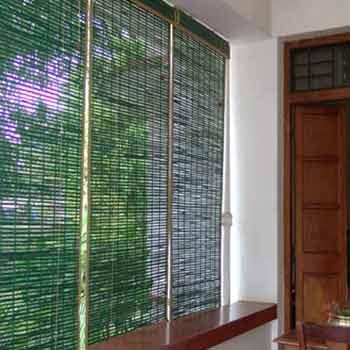 Outdoor Bamboo Blinds Natural Window Blinds Coimbatore