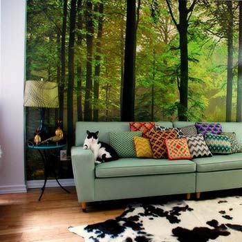 Wall murals wall posters wallpaper coimbatore india for Wallpaper for living room india
